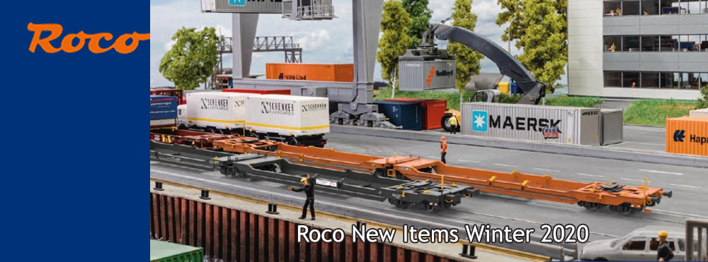 Roco New Items Winter 2020