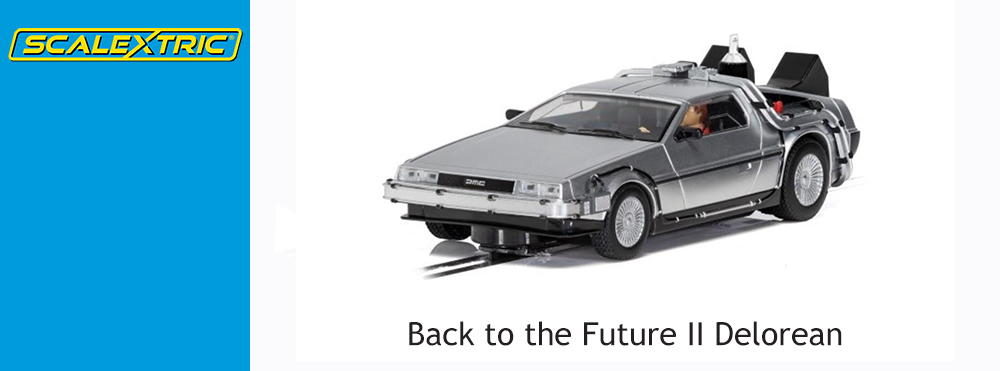 Scalextric Announce Back to the Future II Delorean