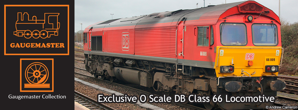 Gaugemaster Collection - O Scale Class 66 009 DB Red