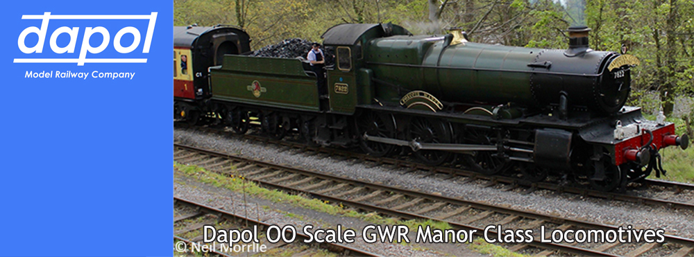 GWR Manor Class Locomotives from Dapol