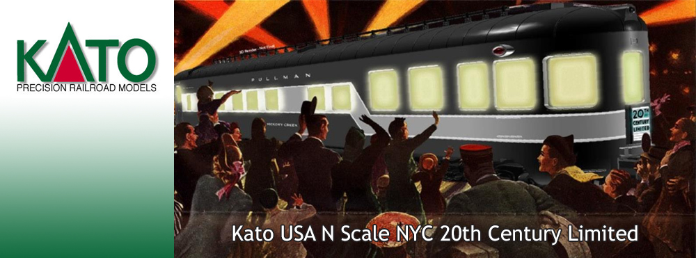 Kato N Scale NYC 20th Century Limited