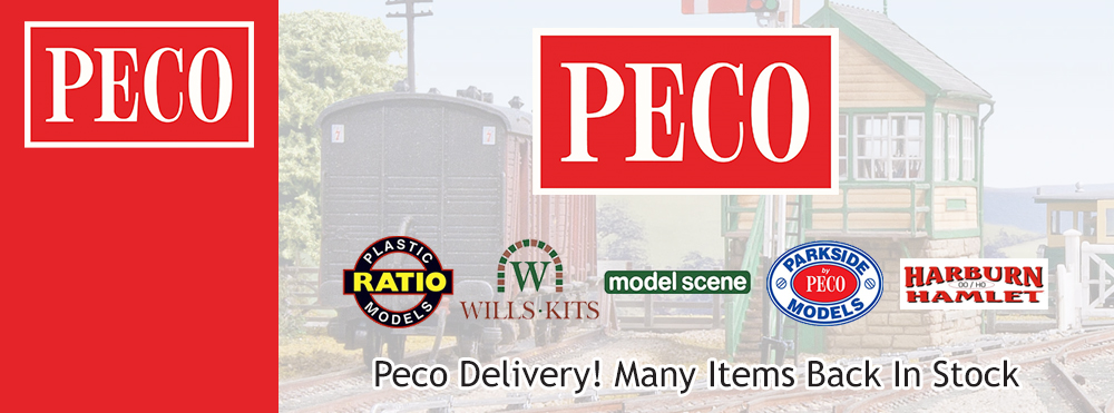 Peco Delivery! Many Items Back In Stock