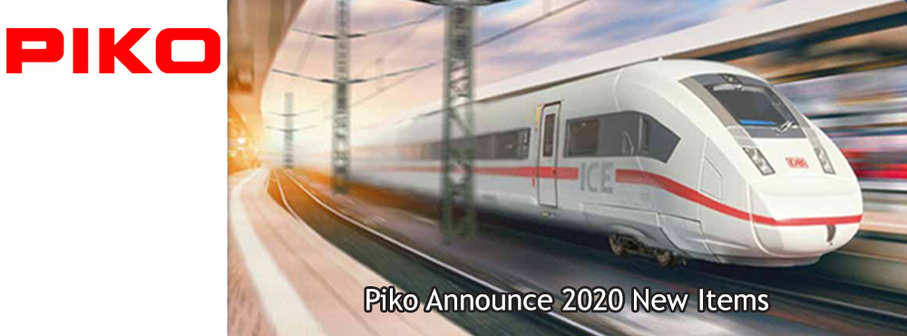 Piko Announce New Items for 2020