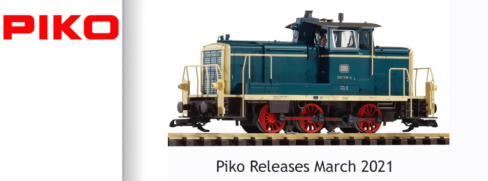 Piko New Releases March 2021