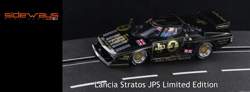 Lancia Stratos JPS Limited Edition from Sideways