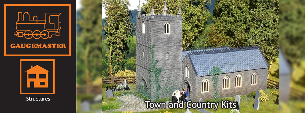 Gaugemaster Structures Town and Country in OO Scale