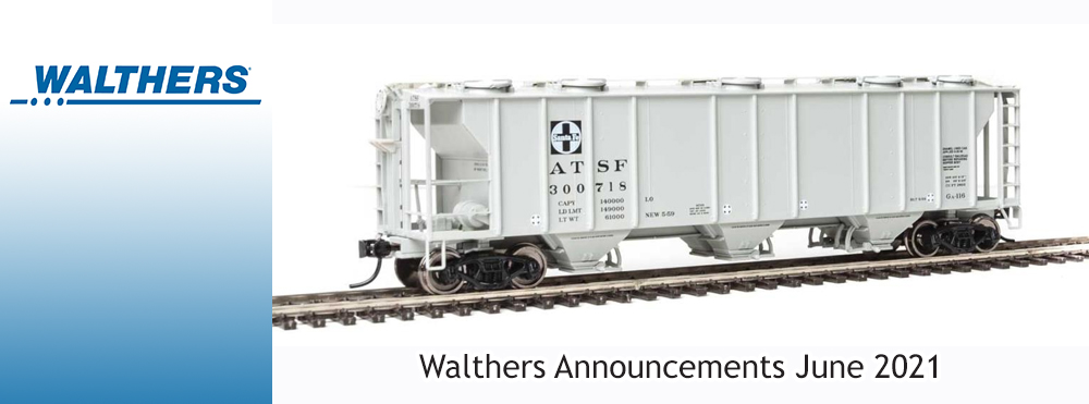 Walthers Announcements June 2021