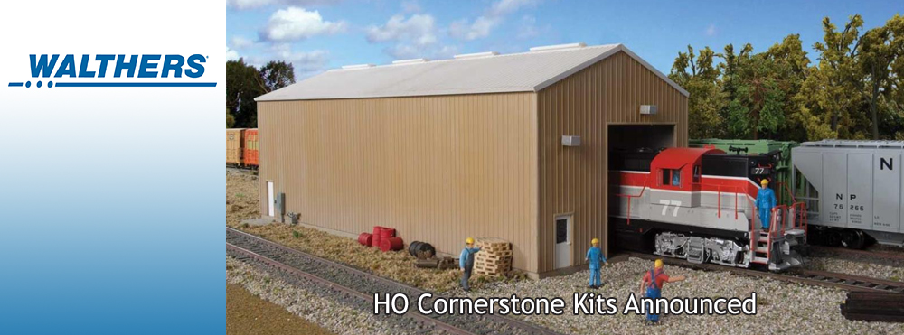 Walthers HO Scale 55ft Evans 3-Bay Covered Hoppers