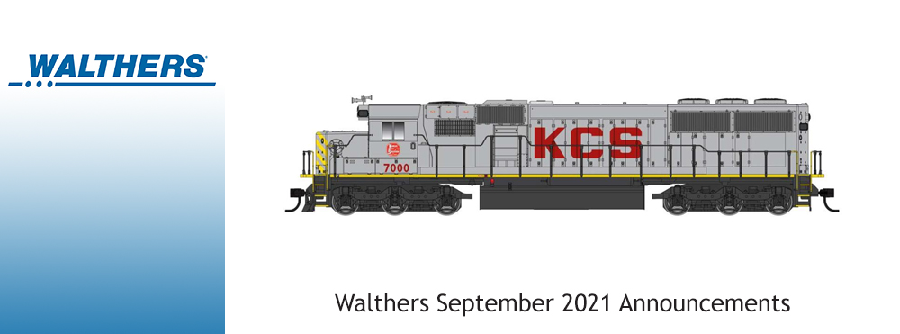 Walthers Announcements September 2021