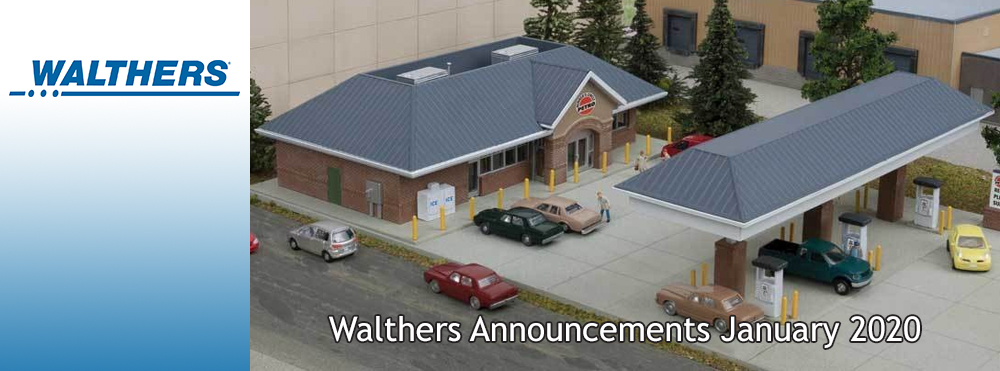 Walthers Announcements January 2020