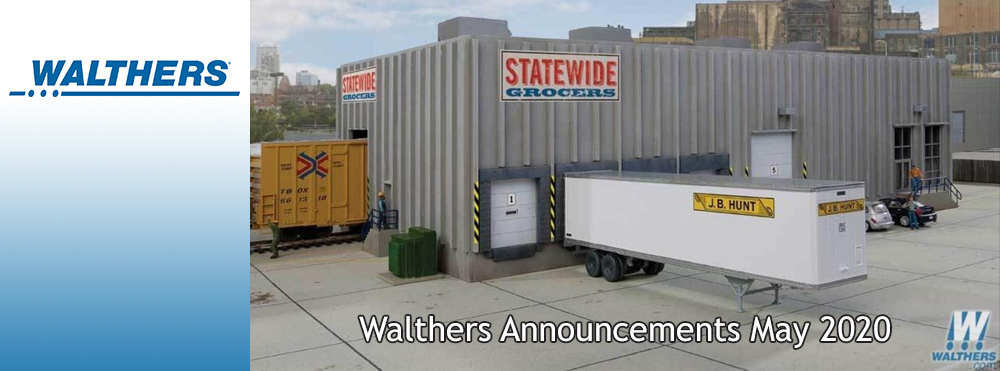 Walthers Announcements May 2020