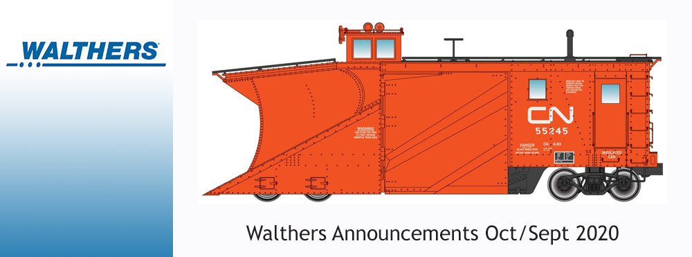 Walthers Announcements Oct/Nov 2020