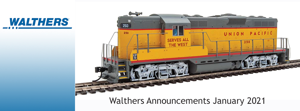 Walthers January 2021 Announcements