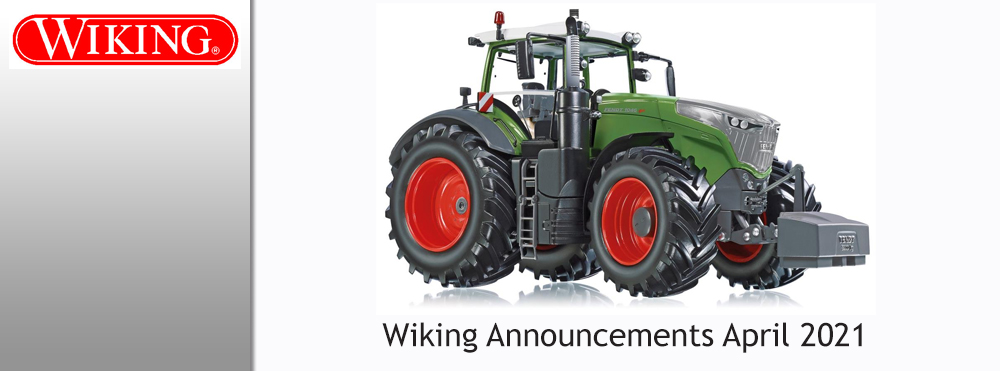 Wiking New Items April 2021
