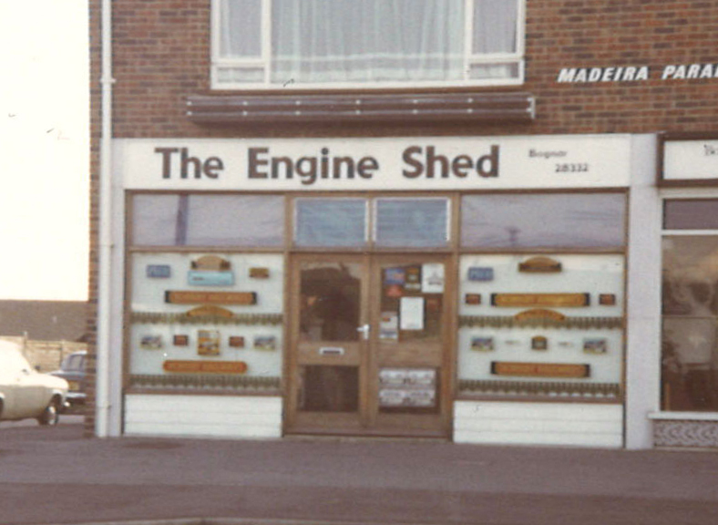The original Engine Shed store in Madeira Parade, Bognor Regis.
