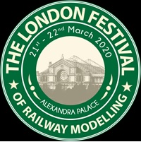 The London Festival of Railway Modelling logo